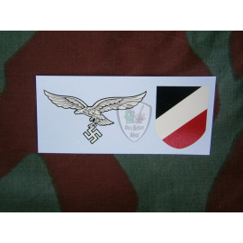 Decal Luftwaffe late adhesive