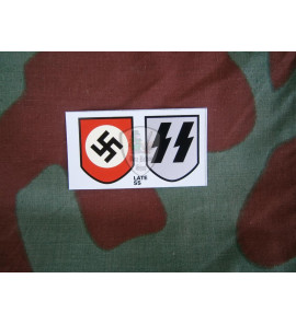 Waffen SS late decal