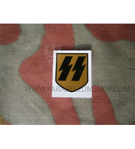 Waffen SS antique single decal