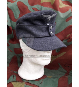 German WW2 M43 Luftwaffe field cap wool - Erel by Robert Lubstein - Made in Germany