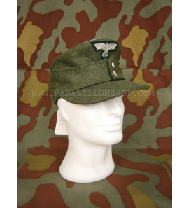 German WW2 wool officer Field Cap M43 Heer- Erel by Robert Lubstein