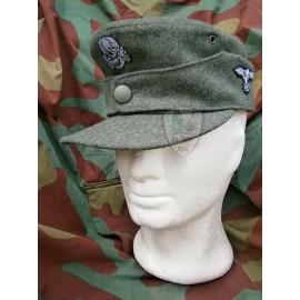 WW2 German M44 Waffen SS field cap - Erel by Robert Lubstein - Made in Germany