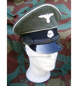 Schirmmutze German WW2 Visor cap Waffen SS NCO & troops - Erel by Robert Lubstein