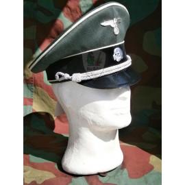 German WW2 Waffen SS officer visor cap - Die Schirmmutze - Erel by Robert Lubstein