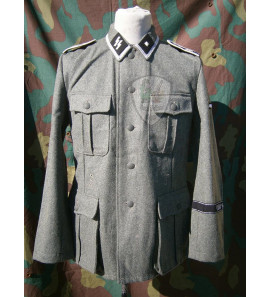 German WW2 Waffen SS NCO Field tunic M40 with insignia