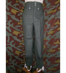 German WW2 M43 field grey wool trousers