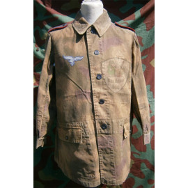 Field division tan & water 44 smock