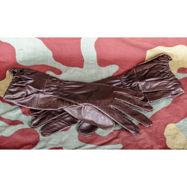 German WW2 paratrooper leather gloves Fallschirmjager