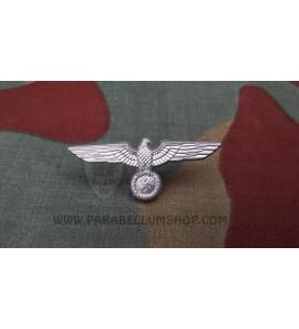 German aluminium Heer cap eagle