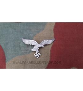 German aluminium Luftwaffe cap eagle
