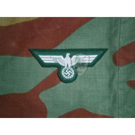 BEVO M36 German eagle on dark green wool cloth museum quality