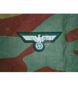 BEVO M36 German eagle on dark green wool cloth museum quality
