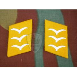 Luftwaffe collar tabs troops ranks