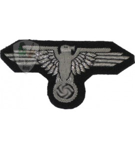 Officer embroidered Waffen SS eagle