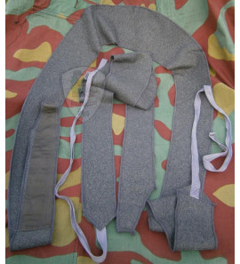Italian WW2 grey green wool leggings