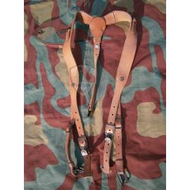 Y straps brown Luftwaffe