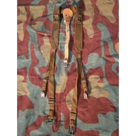 Y straps suspenders Czech Army original WW2 German style