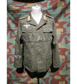 German M40 Tropical Tunic NCO