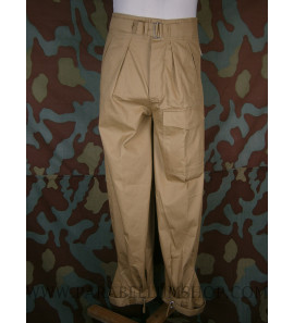German WW2 tropical trousers Luftwaffe uniform - Fallschirmjager