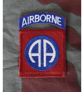 82nd Airborne Division badge