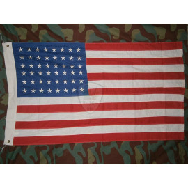 Stars and Stripes flag 48 stars American flag