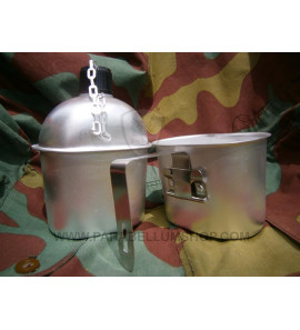 American Army aluminium M10 Canteen and cup