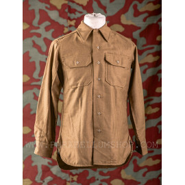 US Army M37 wool shirt