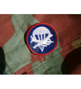 US Airborne officer side cap patch