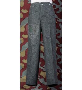 German WW2 wool field grey trousers M40 - feldhose M40