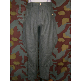 German officer wool jodhpurs